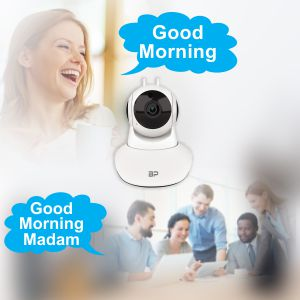 Bigpassport MS6020 WIfi Home Security Camera Two Way Audio