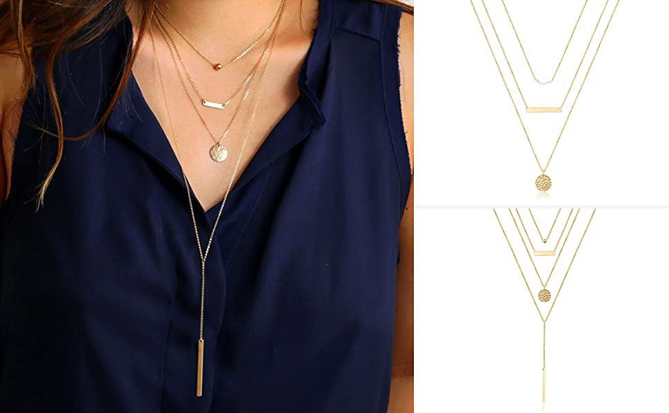 2 layered necklace