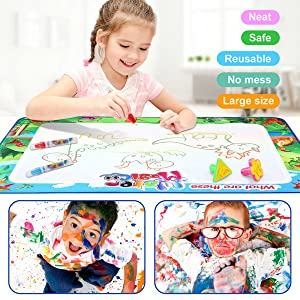 water doodle mat for toddlers