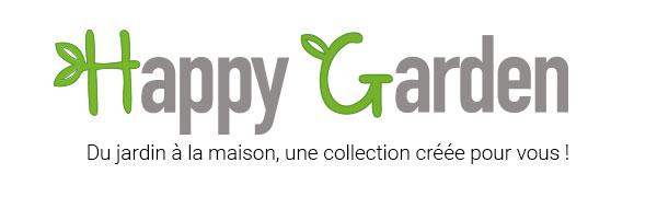 Logo Happy Garden, du jardin à la maison une collection créée pour vous !