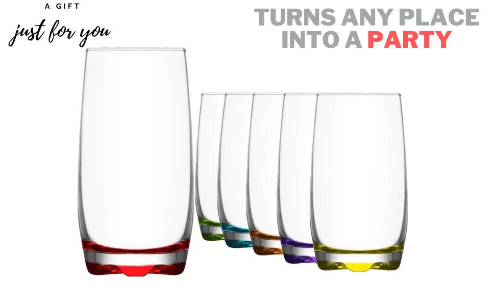 HIGH BALL tumbler GLASS