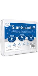 zippered mattress protector full