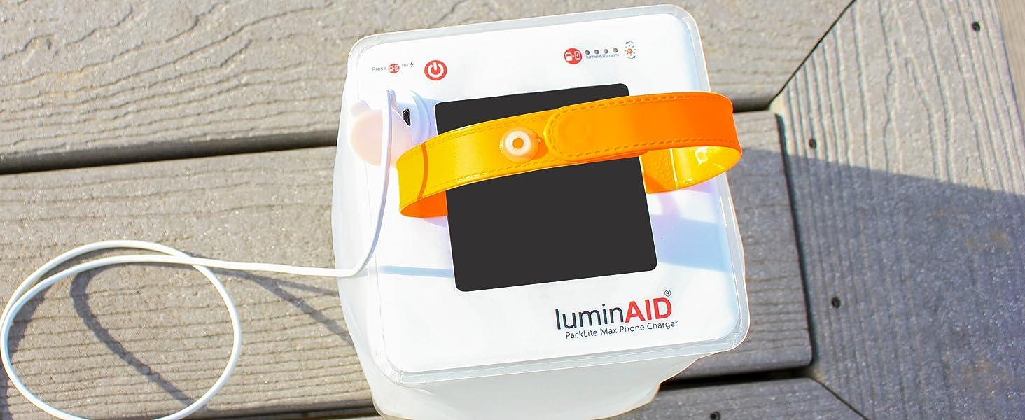 LuminAID Solar Phone Charging Lantern