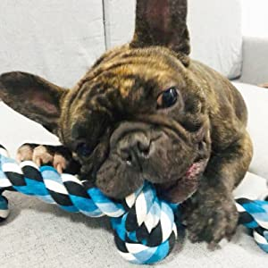 Tough Rope Chew Toys for Large and Medium Dog