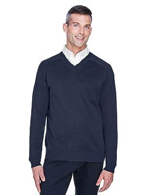 Devon amp; Jones Men's V-Neck Sweater