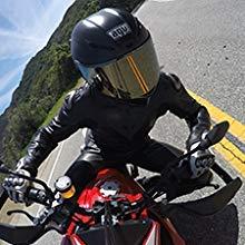 motorcycle rider gopro