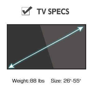 43inch tv wall mount