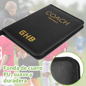 GHB Carpeta Táctica Plegable para Entrenamiento de Fútbol Embalaje con Cremallera: Amazon.es: Deportes y aire libre