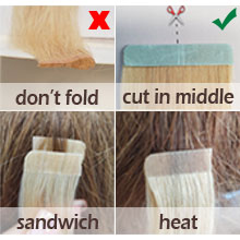 How to use the tape correctly