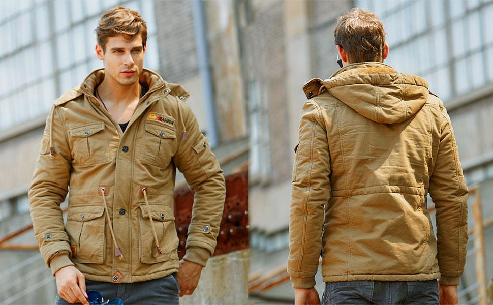 Mens military jackets