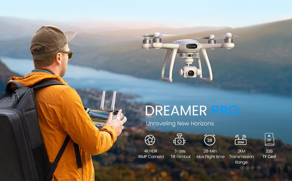 Potensic Dreamer Pro 4K Drone