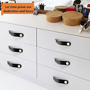 kitchen cabinet knobs unique leather knobs leather cabinet handles engraved Brown Leather dresser drawer pulls Ikea furniture upgrade