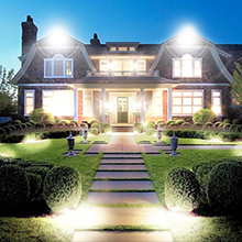 light for backyard