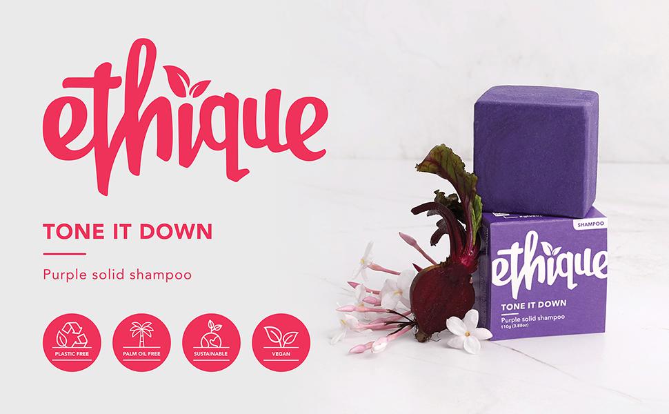 purple shampoo, purple conditioner, blonde hair, toner, grey hair, compostable, shampoo bar, hair