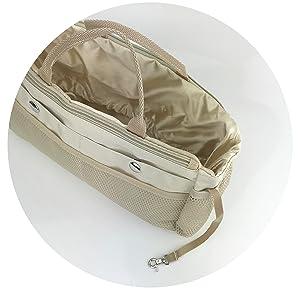 handbag organizer with key chain