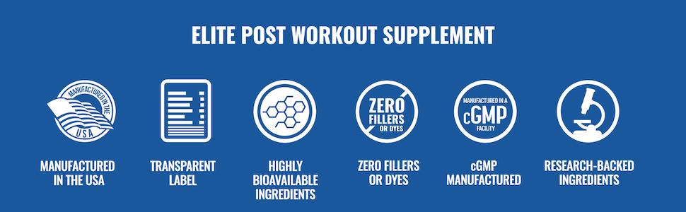 Power Build - Elite Post Workout Supplement