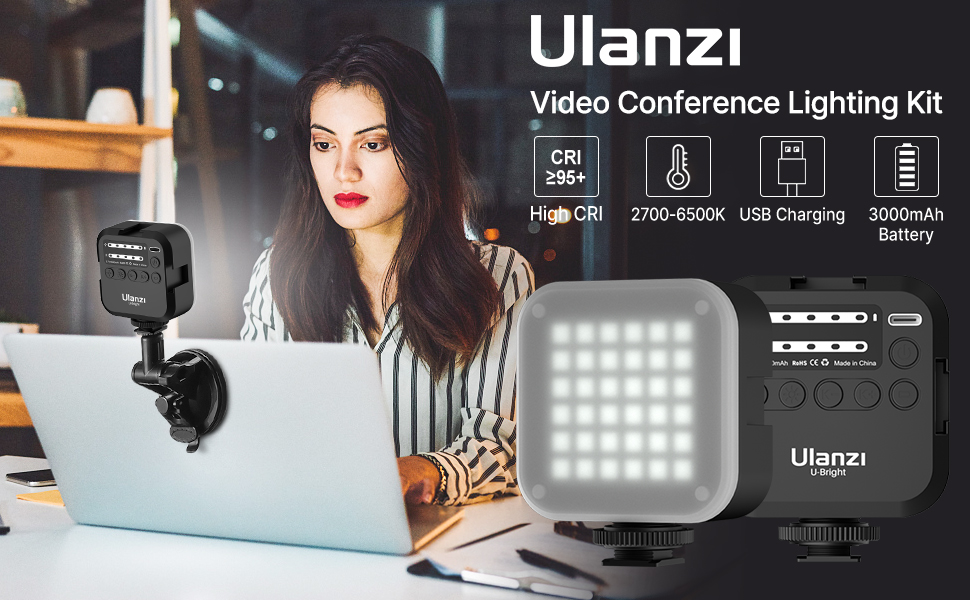 video conference light