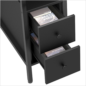 Two spacious drawers