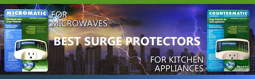 Protectores opacos para aparatos que evitan que los aparatos quemen aparatos de sobretensión.