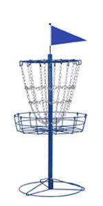 12-Chain Disc Golf Target