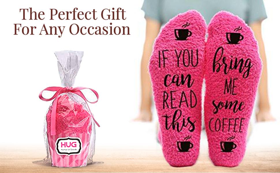 Silly Girl Fuzzy Warm Socks AnniversaryBirthday GiftDate NightGag GiftStocking Stuffer wine beer socks ladiesbaby Shower