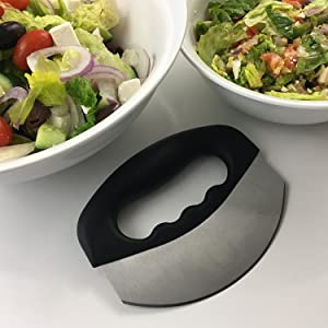 mezzaluna bowl herb tool mezzaluna slicer herb knife mincing knife mezzaluna board