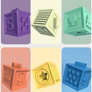 6 different patterns  design