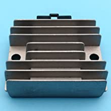 Tuzliufi Voltage Regulator Rectifier Replace Honda Small Engine HT3813 HT3810 H4013 HT4213 H4514H H4518H H5013 RT5000 Lawn Tractor 31600-890-951 31600 ZE2-861 6 Pin New Z200