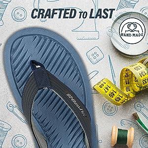 durable, handcrafted flip flops for men