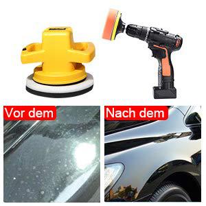 Tdw Polierschwamm Auto 22pcs Polierschwamm Set Für Polierauflage Bohrmaschine 76 2mm 3 Inch Polierpad Set Und Wolle Polierteller Für Poliermaschine M10 Bohrer Adapter Auto