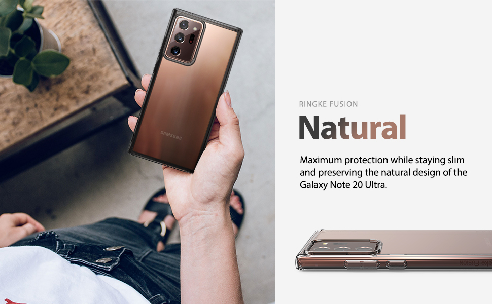Ringke Fusion Case Designed for Galaxy Note 20 Ultra, Galaxy Note 20 Ultra 5G (2020)