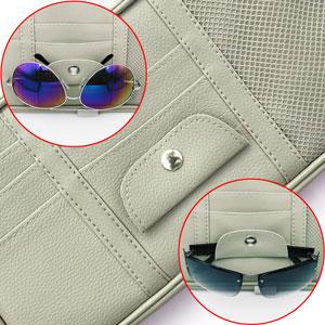 Multi-function glasses clip