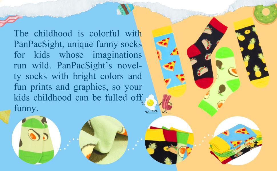 food funny socks