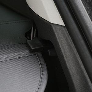 Color Name : Red Black MOUNTAIN MEN Styling voiture capot Bonnet /à rayures autocollant douverture du coffre arri/ère autoport/ée Capot vinyle Durites pour Mini Cooper R56 R57 F55 F56 Accessoires