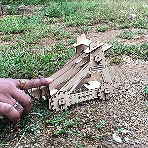 STEM Construction Activity Toys for 7 8 9 10+ Years Boys Girls DIY Catapult Guns Shooter Wooden Gift