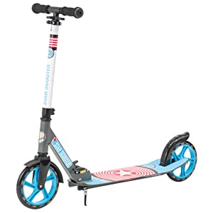 Patinete Scooter plegable para niños y niñas a partir de 7 años y adultos