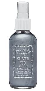 silver fox hair spray