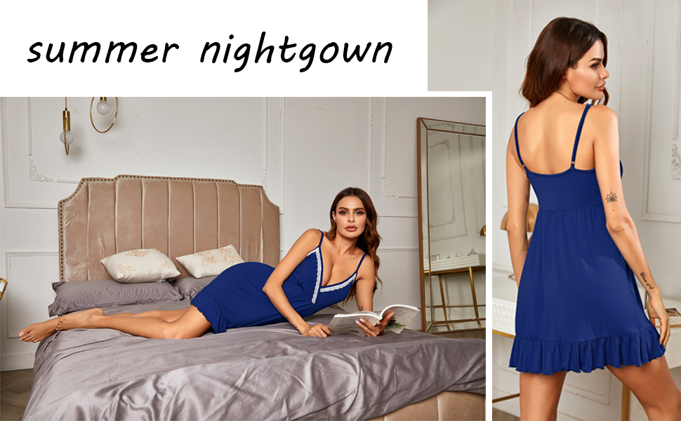 lingerie women nightgowns night shirt dress night shirts for women sleepwear pajama dress shirt