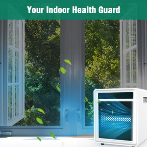 Air sanitizer purifier with uvc light Wide UV Disinfection Coverage 99% of viruses germs flu