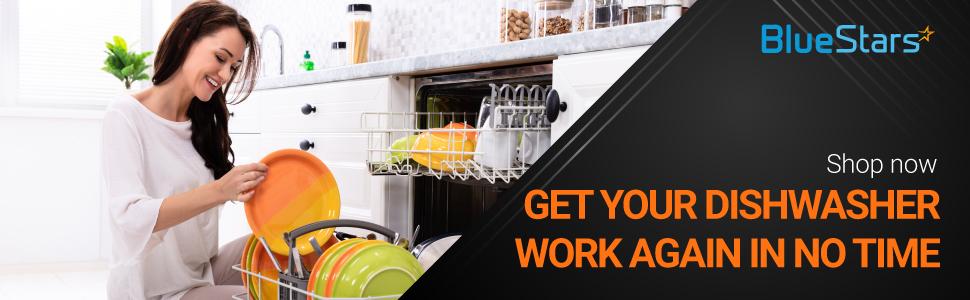 Whirlpool 8565925 Dishwasher Dishrack Stop OEM