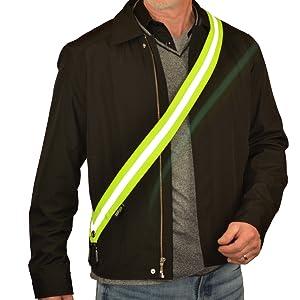 classy dressy matches moonsash reflective gear men women children safety night comfortable fashion