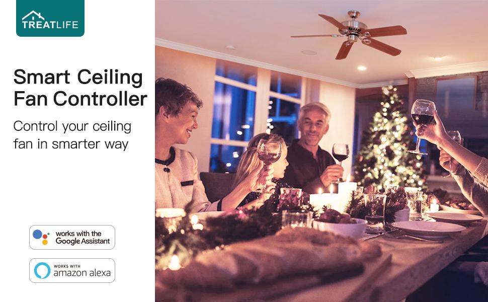 Smart Ceiling Fan Controller