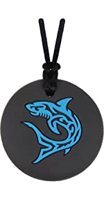 Munchables Shark Chew Necklace