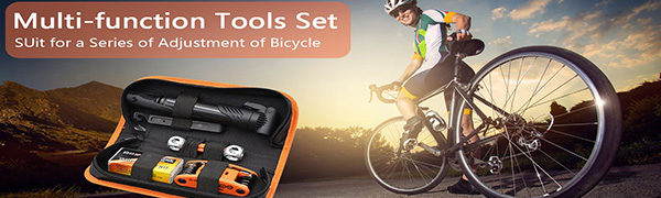 The Multi-function Tools Set By XCH Robots Brand, SUit for a series of Adjustment of All Bicycle.