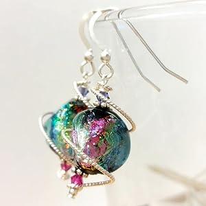 Sterling stering sterlling silver earring for women earing for men lobes pierced dangle elegance