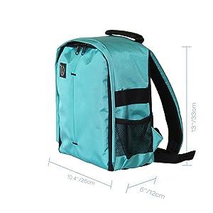 Padded DSLR Camera Backpack Camera Backpacks