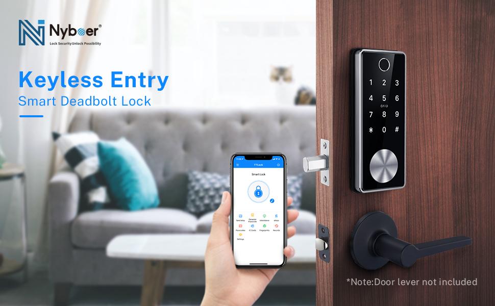 Keyless entry door lock