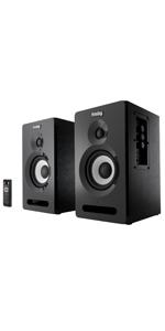 Frisby Audio FS-2010BT Bookshelf Speaker System with Bluetooth