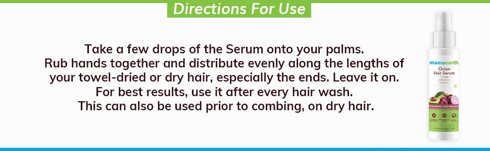 Onion serum