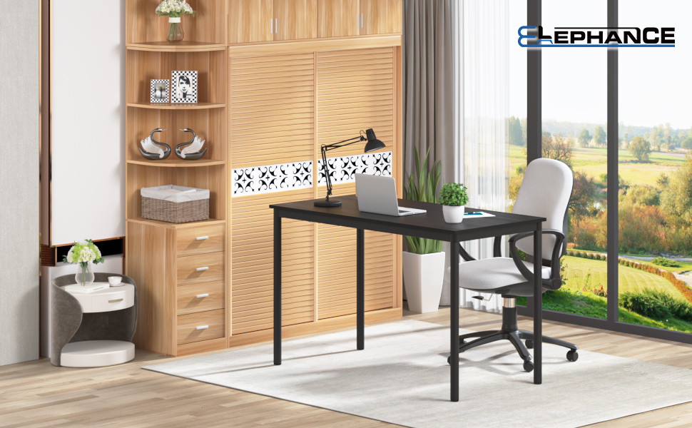 "Elephance Office Computer Small Desk 39""⸴ Study Writing Desk"
